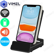 Wireless Ip Spy 128gb Wifi Docking Station Mobile Phone Charger Security Camera