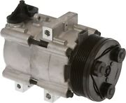 Brand New Ac A/c Compressor With Clutch Fits 91-93 Lincoln Town Car