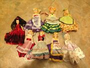 Vintage Dolls, Arco 1960's, Dolls Of The World, Collectibles And Antiques