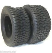 2 New 16x6.50-8 Turf Tires 4 Ply Tubeless Tractor Rider Mower