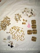 100 Pieces - Fire Department Button And Pin Collection - Ottawa - Fireman Badges
