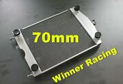 70mm 2.7and039and039 Aluminum Radiator For Ford 2n/8n/9n Tractor W/flathead V8