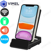 Wireless Ip Spy 64gb Wifi Docking Station Mobile Phone Charger Security Camera