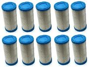 10 New Air Filters Cleaners For Kubota Engine Motor Lawn Mower Tractor And More