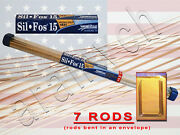 7 Rods Brazing Rods Harris Stay-silv 15 Soldering Rods Alloy Silver 15 Bcup-5