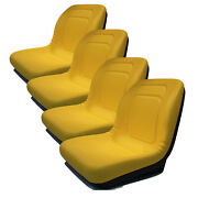 4 High Back Seats For John Deere Gator Gas And Diesel Models 4x2 4x4 Hpx, Th 6x4