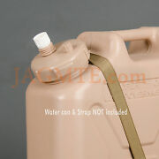 Suction - Scepter Tan Modified Cap For Suction Pump Fits Military Water Can