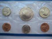 1984 Uncirculated Coin Set With P And D Mint Marks Proof Like High Luster Finish