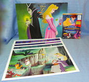 Bnip 2003 Sleeping Beauty 2 Disc Special Edition Dvd W/ Disney Store Lithographs