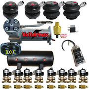 B Air Ride Suspension Compressor Valves Tank 2500and2600 Bags 7 Switchbox F07