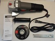 Porter Cable Heavy Duty 4.5 Angle Grinder 6.0amp Pc60tag