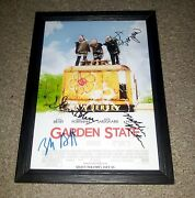 Garden State Cast Pp Signed And Framed 12x8 A4 Poster Autographed Zack Braff
