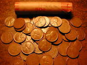1948-s Lincoln Wheat Cent Penny Roll, Nice Condition