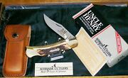Schrade Lb8 Lockback Knife P And M Mines Circa-1980's Uncle Henry W/packaging