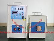 25kw 340-430v 5-20khz Dual Station Mid-frequency Induction Heater Melter Furnace