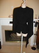 Stunning, Rare, New 3k Cashmere And Wool Jacket By Donna Karan