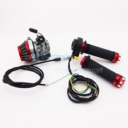 Racing Carburetor Air Filter Throttle Grips Cable 50 60 80 Cc Motorized Bicycle