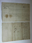 Manuscript Document - Signed Land Deed In Clearfield Pennsylvania - 1811