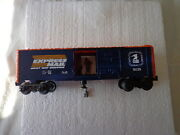 O 0/27 Lionel Freight Carrier Usps Express Mail Operating Box Car