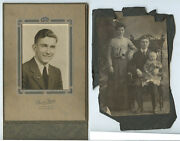 Photographic Lot Of 9 - Newlyweds From Lansford Pa Mckeesport Family Portrait