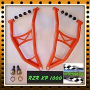 Max Clearance Chromoly Lower A-arms W/ Hd Ball Joints 2014-16 Rzr Xp 1000 Orange