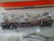 Lionel O And 027 Lionel Aviation Flat Car With Ertl Die Cast Helicopter