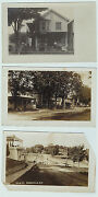 Rppc - Lot Of 3 - Gainesville Ny - 1906 Real Photo Postcard Wyoming County