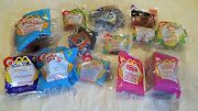 Mcdonalds Collectable Happy Meal Toys, Lot, Sealed, Barbie, Tarzan, Furby, Etc.
