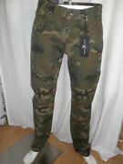 Nwt Marc Ecko Cut And Sew Camouflage Camo Jeans Slim Cut Fit Pants Mens New Size