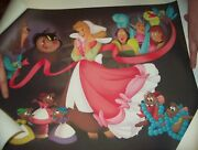 Disney A Lovely Dress For Cinderelly Cinderella Limited Edition Lithograph