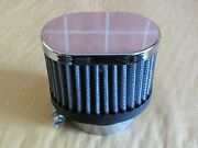 S And B Oval Air Filter Fits Motorcycle Carb Size 40mm Rc84 Rc 84