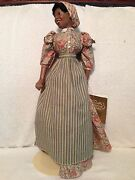 Franklin Mint Gone With The Wind Prissy Doll 1993 Coa