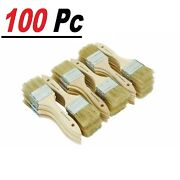 100 Chip Brush Brushes Perfect Adhesives Paint Touchups Sizes 0.5 1 1.5 2 3
