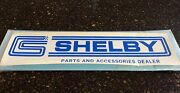 Nos Vintage Cs Shelby Autosport Parts And Accessories Dealer Decal Water-slide