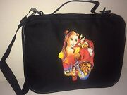 Trading Book For Disney Pins Belle Beauty And The Beast Med/large Pin Bag