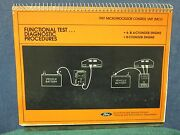 1981 Mcu Functional Test, Diagnostic Procedures, 4, 6, And 8-cylinder Engine