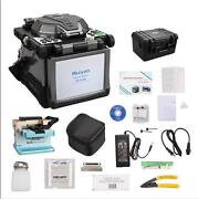Ry-f600 Fusion Splicer W/optical Fiber Cleaver Automatic Focus Function 5.6 Lcd