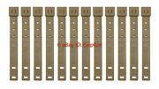 12x Tactical Tailor Molle Short Coyote Malice Clips/kydex Holster Belt Loops New