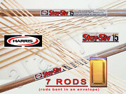 7 Sticks 7 Rods Harris Stay-silv 15 Silver Soldering Rods. Bcup-5