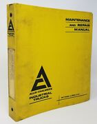 Allis-chalmers General Data Masts And Carriage Side Shifters And Forks Manual Set