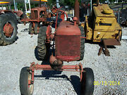 Cub Farmall Complete Or Will Sell Parts