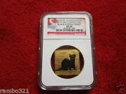 2011 Canada 3 Black- Footed Ferret Ngc Sp69 Gold And Silver .999 Canadian Coin