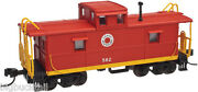 Atlas Trainman Lehigh And New England Cupola Caboose 582 R-t-r Free Shipping