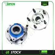 2x Front Wheel Hub And Bearing Assembly For Chevrolet Impala Pontiac Grand Prix