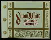 Disneyand039s Snow White And Seven Dwarfs 1978 Limited Edition Mint Still-in-box
