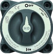 New Hd Series Battery Switch Blue Sea Systems 3000 On-off Continuous 600a Inter