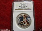 2013 Fiji Toy Terrier Dogs And Cats Puppy .999 Silver 1 Oz Coin Pf 69 Ngc Graded
