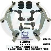 For Nissan X-trail Front Suspension Wishbones Arms Links Track Rods Links Bushes