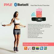 Pyle Bluetooth Fitness Heart Rate Monitoring Watch With Wireless Data