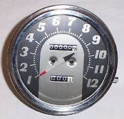 Harley Speedometer 62-67 Big Twins With Fatbob Tanks Replaces Oem 67004-62